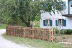 Neuer Zaun am Bauerngarten